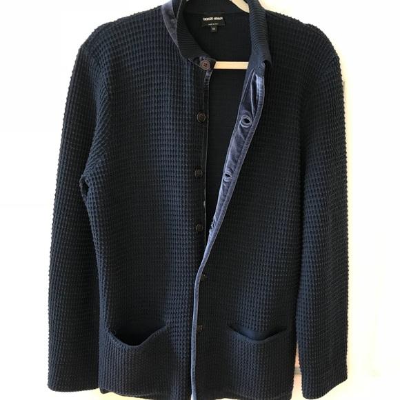 b1324dce4 Giorgio Armani wool cardigan made in Italy
